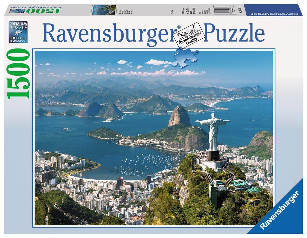 Rio de Janeiro 1500 biter Puslespill Ravensburger Puzzle
