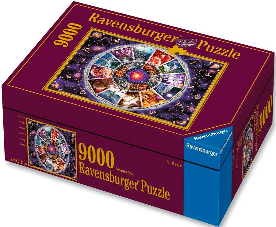 Astrology 9000 biter Puslespill Ravensburger Puzzle