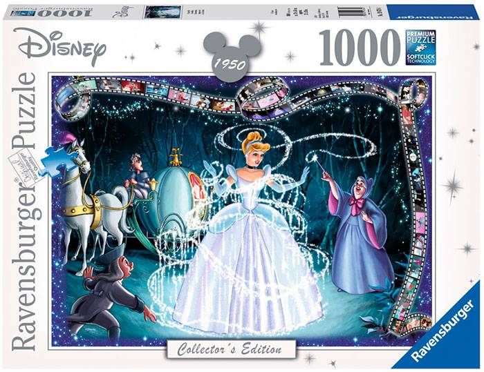 Disney Cinderella 1000 biter Puslespill Ravensburger Puzzle