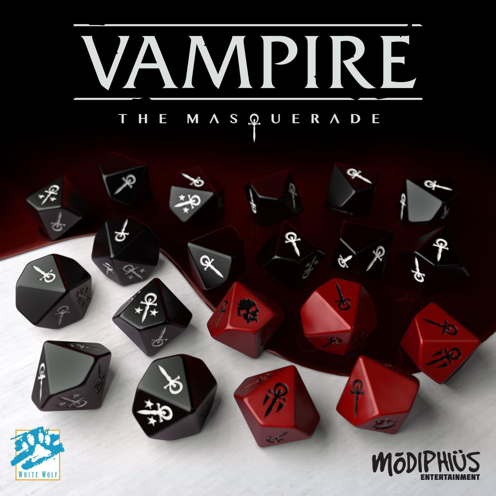 Vampire Masquerade Dice Set D10 20stk