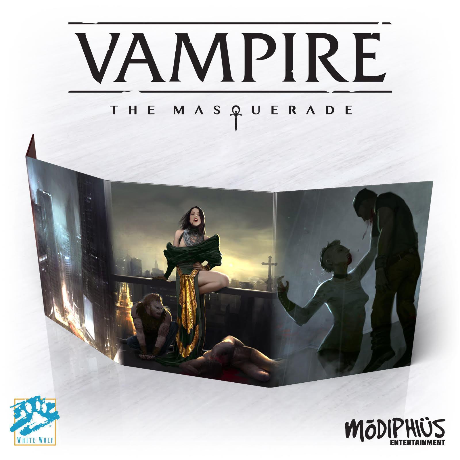 Vampire Masquerade Storyteller Screen 5th Edition