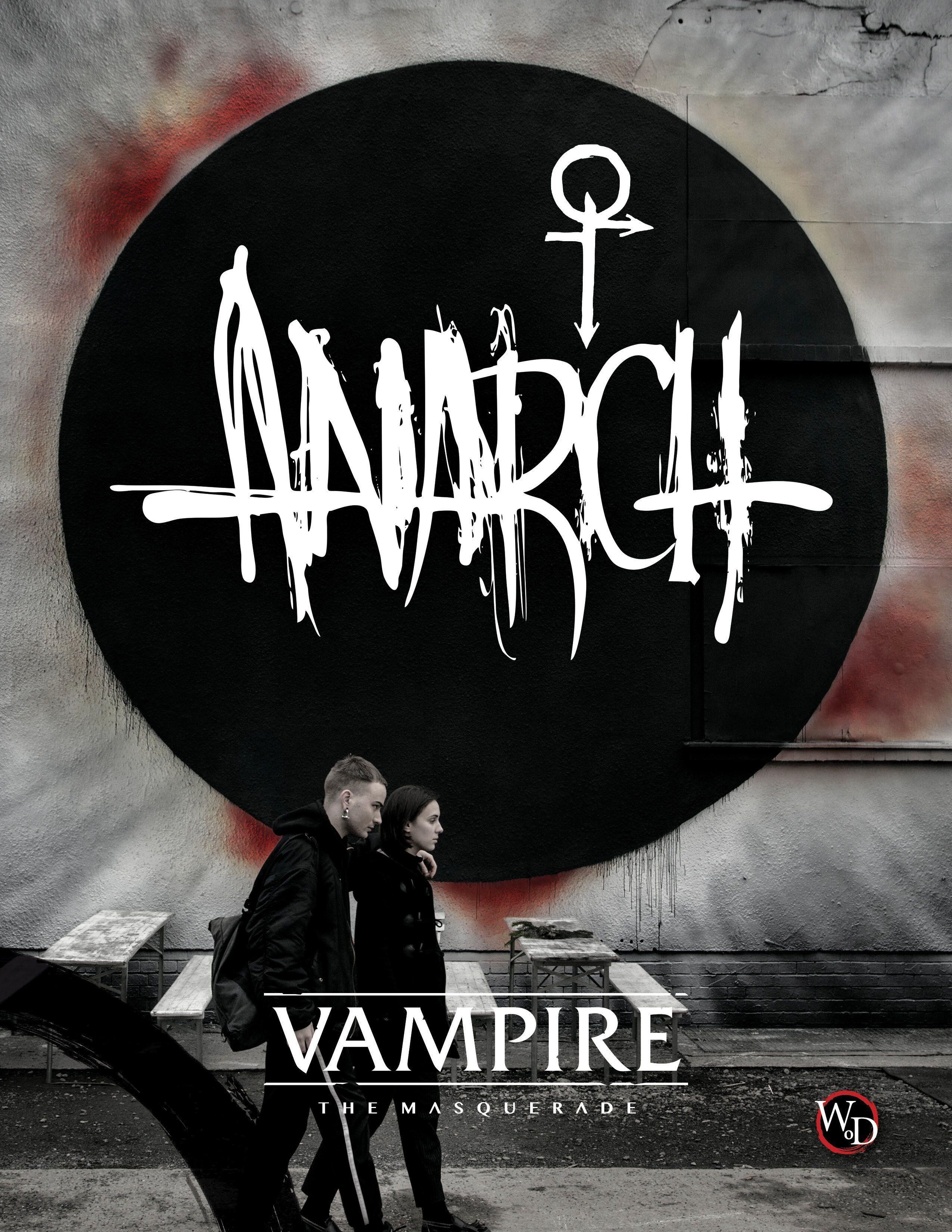 Vampire Masquerade The Anarch (Hardback) 5th Edition - Source Book
