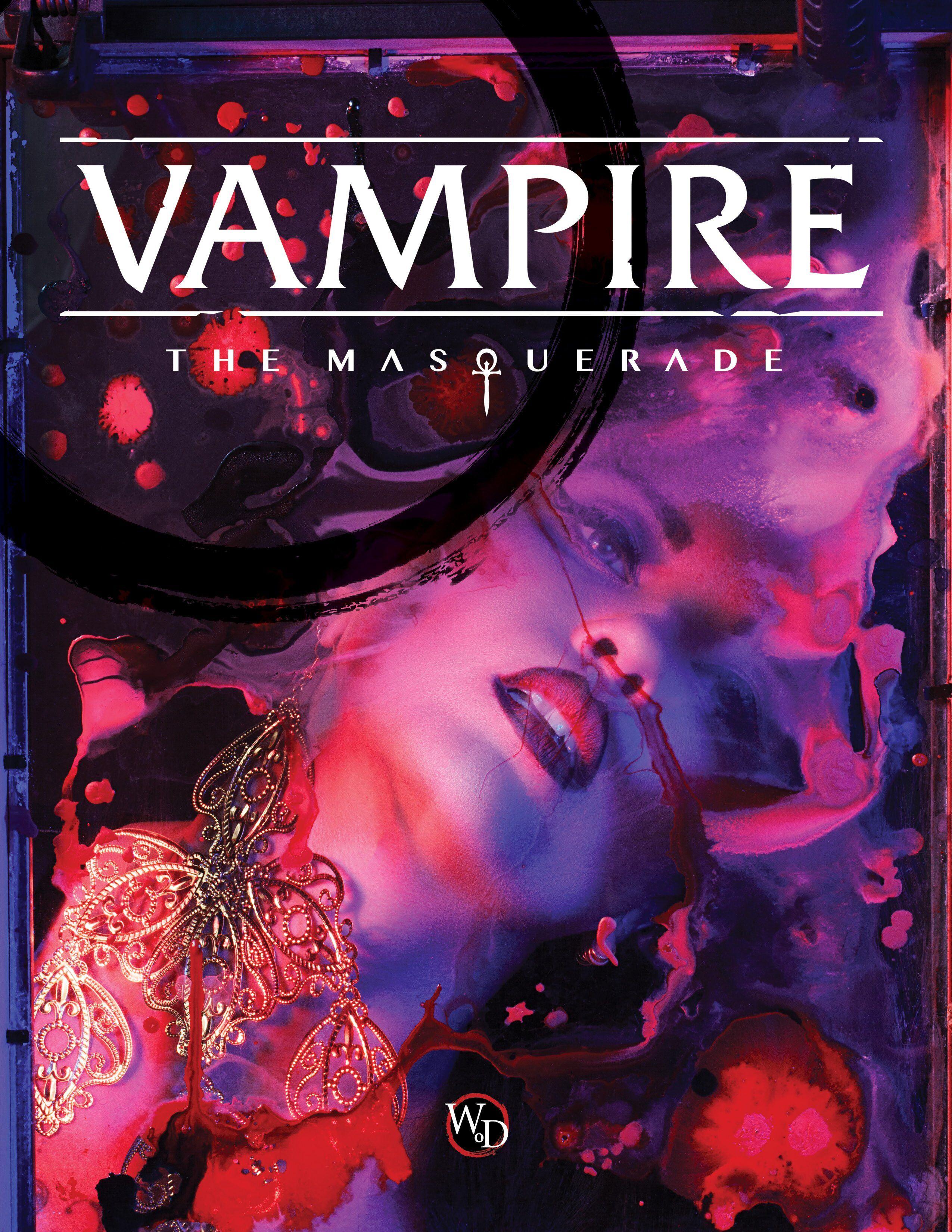 Vampire The Masquerade Regelbok 5th Edition Core Book  Hardback