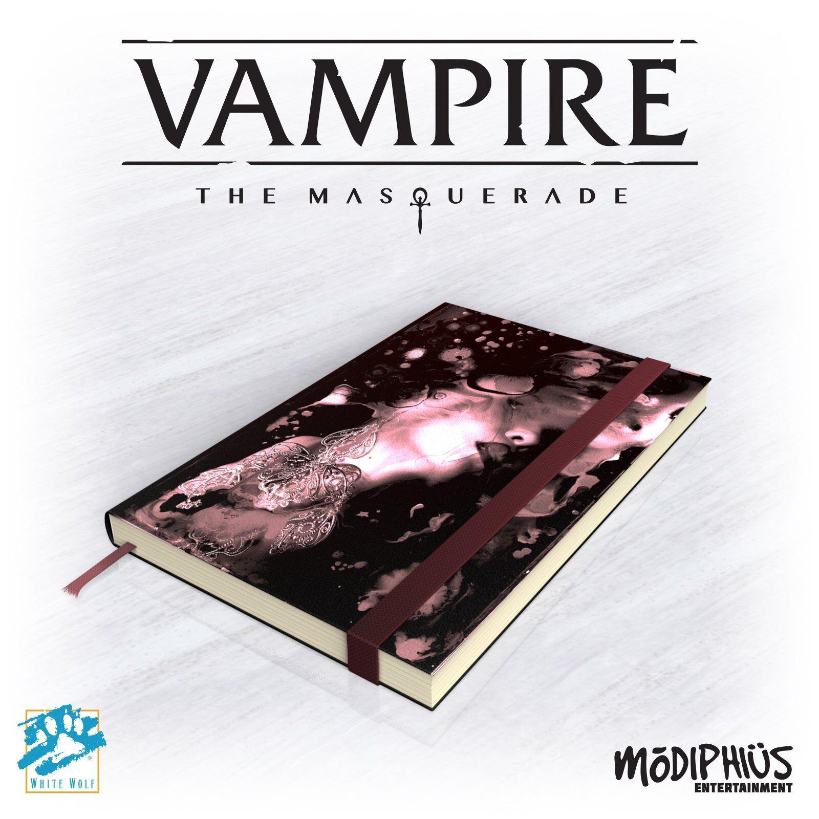 Vampire Masquerade Notatbok 5th Edition - Note Book