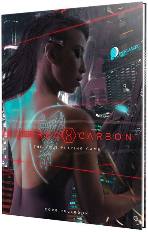 Rio Altered Carbon RPG Core Rulebook