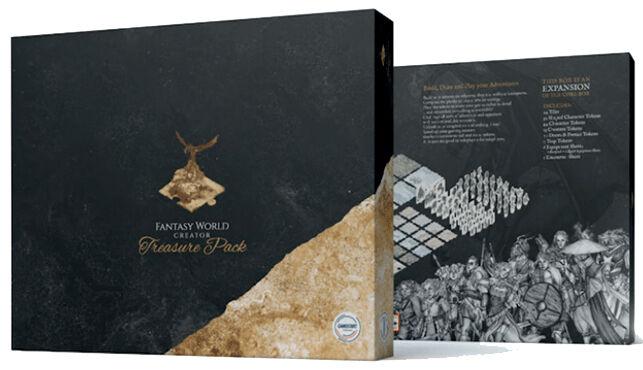 Fantasy World Creator Treasure Pack Exp Utvidelse til Fantasy World Creator