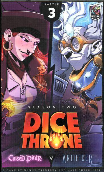 Dice Throne Season 2 Battle Box 3 Cursed Pirate vs Artificer