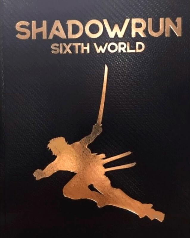 Shadowrun 6th Edition Core Rulebook LE Sixth World Regelbok - Limited Edition
