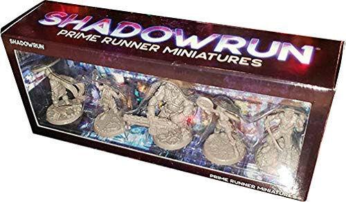 PRiME Shadowrun Prime Runner Miniatures Miniatyrfigurer til Shadowrun 6th World