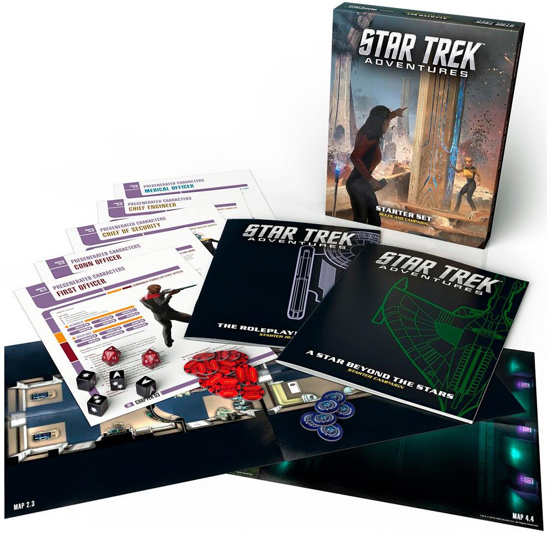 Star Trek RPG Adventures Starter Set