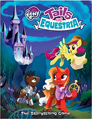 Tails of Equestria Core Rulebook My Little Pony RPG - Regelbok
