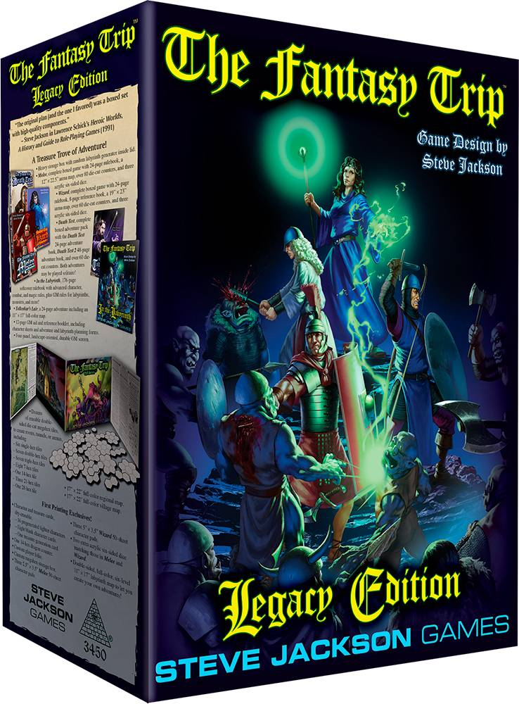Fantasy Trip Legacy Edition Rollespill