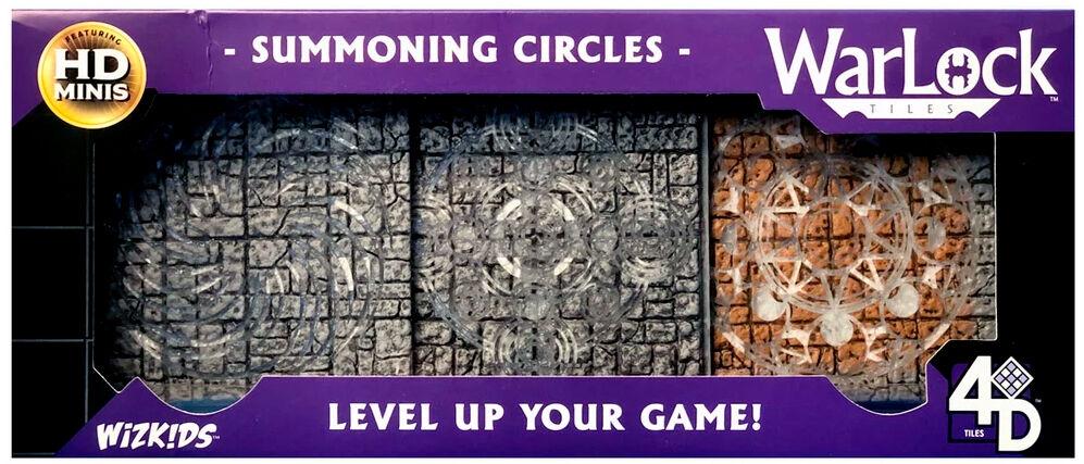 Warlock Tiles Summoning Circles Bygg din egen Dungeon i 3D!