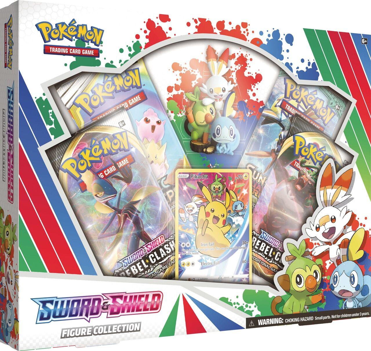Pokemon Sword Shield Figure Coll. Box
