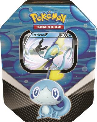 Pokemon Tin Galar Partners Inteleon V Spring 2020 Collector's Tin Box