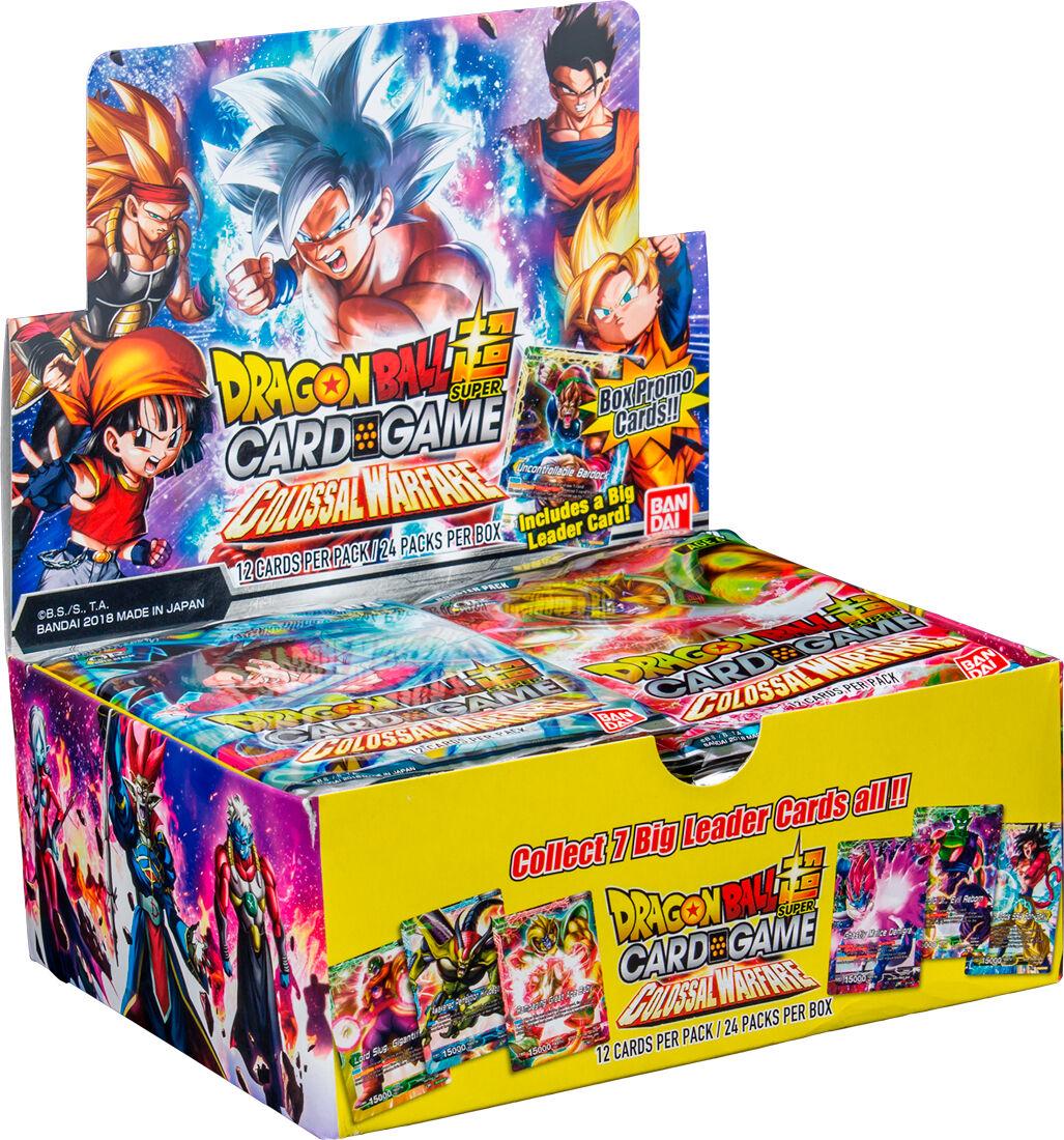 Dragon Ball SCG Colossal Warfare Display 24 boosterpakker á 12 kort per pakke