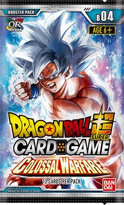 Dragon Ball SCG B04 Colossal Booster Super Card Game Colossal Warfare