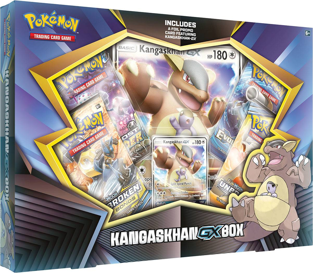 Pokemon Kangaskhan GX Box