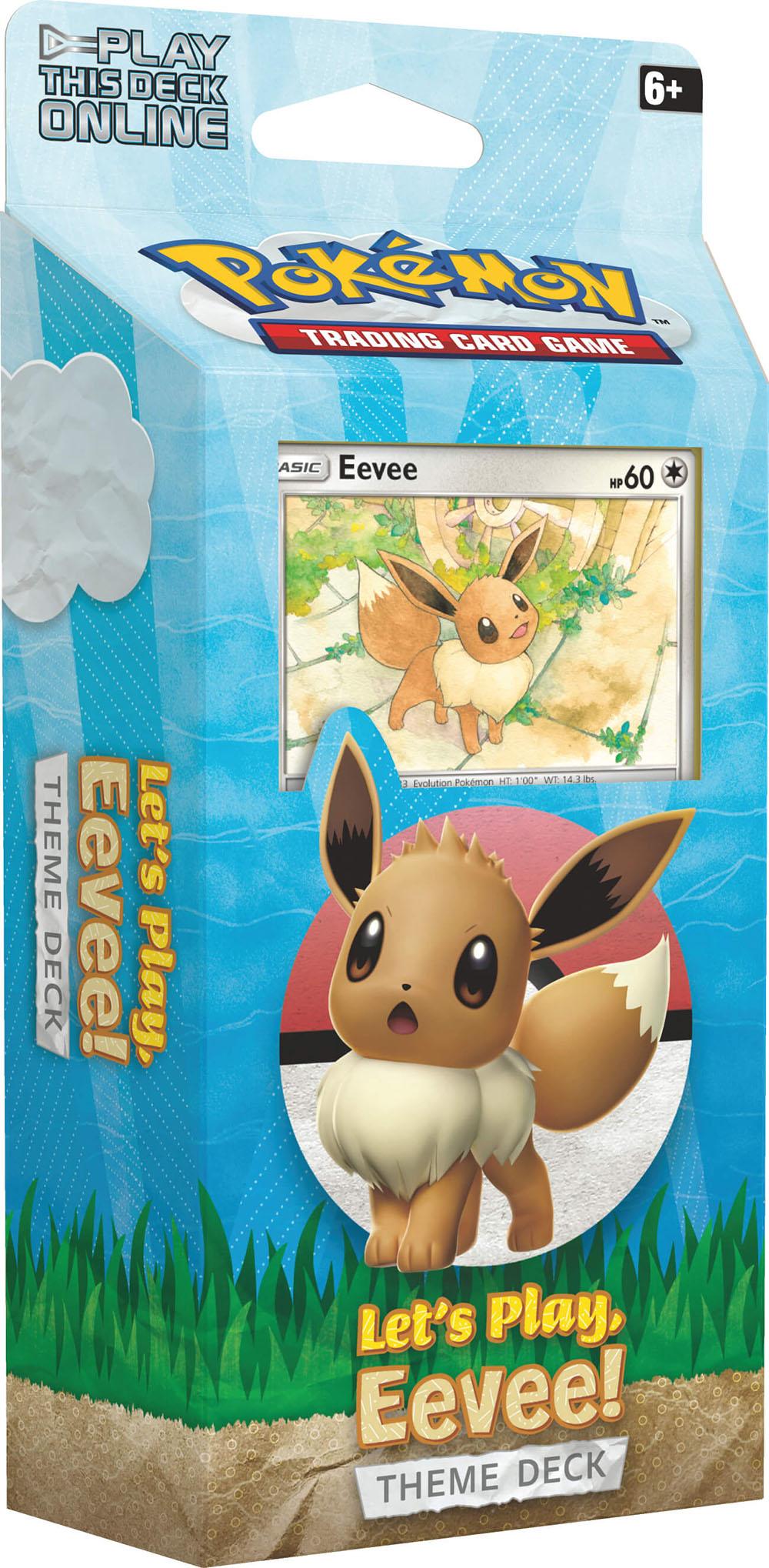 Pokemon Lets Play Eevee Theme Deck