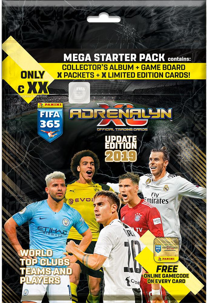 Panini FIFA 365 2019 Update Ed Starter Adrenalyn XL - Startpakke