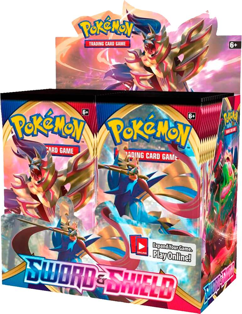 Pokemon Sword & Shield Display 36 boosterpakker á 10 kort pr pakke