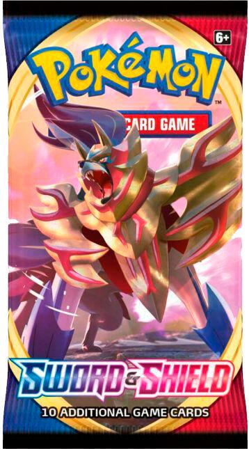 Pokemon Sword & Shield Booster 10 tilfeldige kort