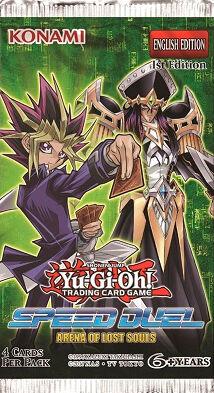 Yu Gi Oh Arena of Lost Souls Booster 4 kort per pakke - Speed Duel