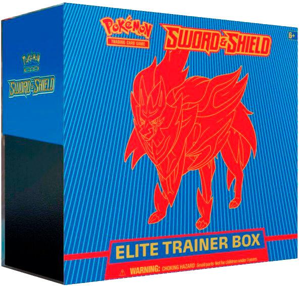 Pokemon Sword & Shield Elite Trainer Blå