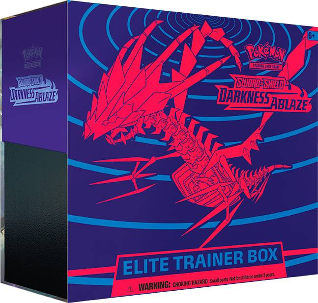 Pokemon Darkness Ablaze Elite Trainer Sword & Shield 3
