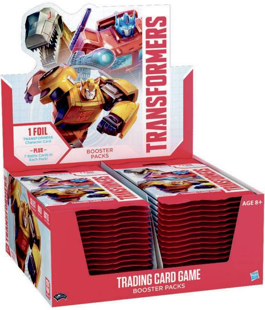 Transformers TCG Display Trading Card Game - 30 boosterpakker