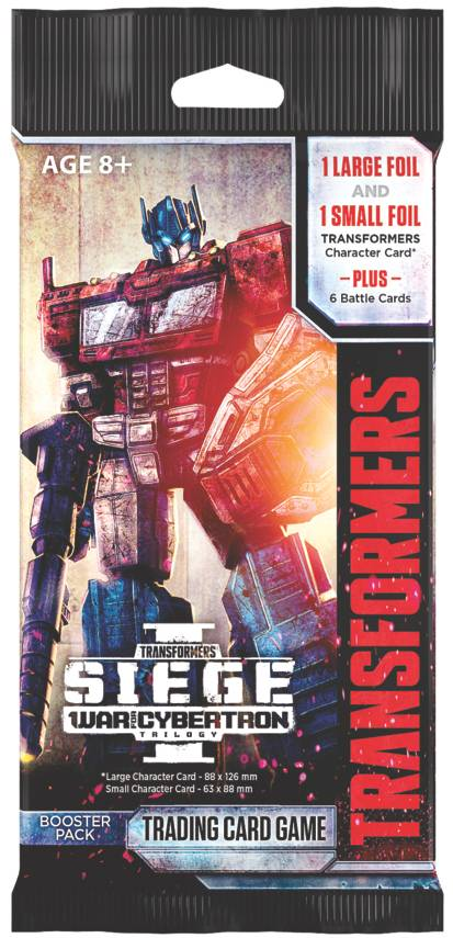 Transformers TCG Siege 1 Booster Trading Card Game - War for Cybertron