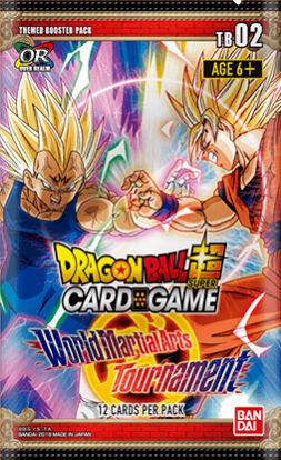 Dragon Ball SCG TB02 World Martial Arts Super Card Game - Themed Booster 02