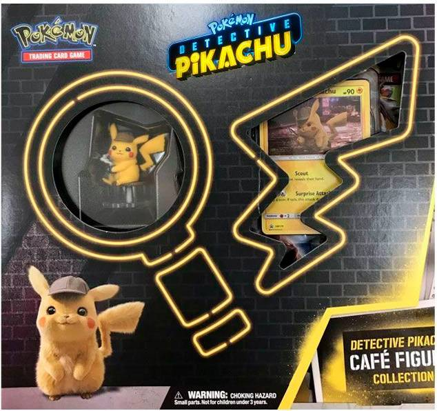 Pokemon Detective Pikachu Figure Coll