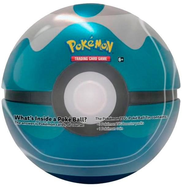 Pokemon Tin Pokeball Dive (Blå) Spring 2020 Edition
