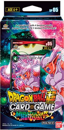 Dragon Ball SCG SP05 Miraculous Revival Super Card Game - Special Pack 05