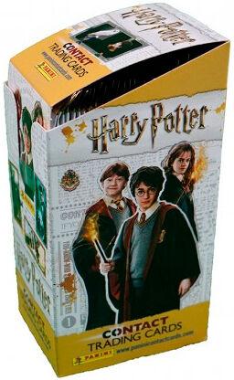 Harry Potter Contact Samlekort Display 24 boosterpakker - 5 kort per pakke