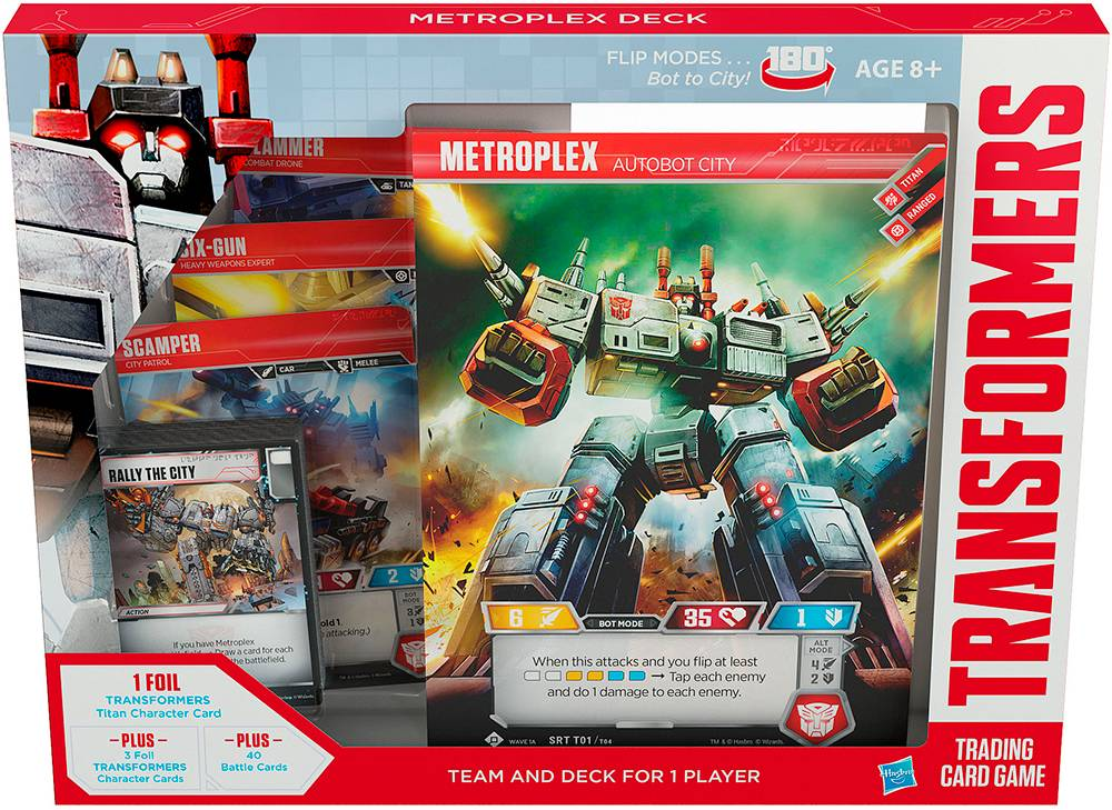 Transformers TCG Metroplex Deck Trading Card Game