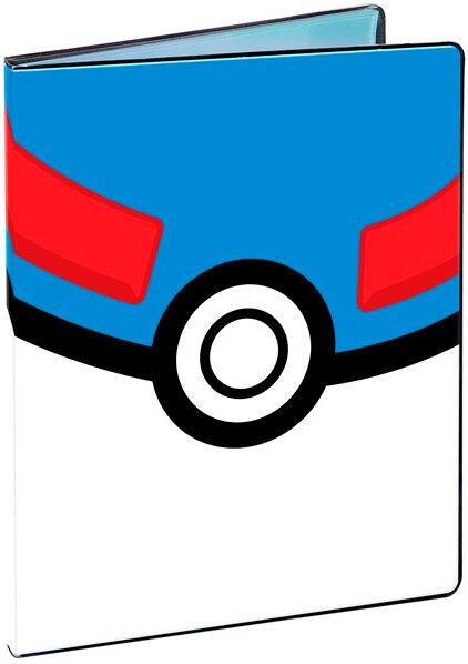 Album Pokemon Great Pokeball 9 Pocket Ultra Pro Binder - Plass til 180 kort