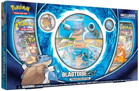 Pokemon Blastoise GX Premium Coll. Box