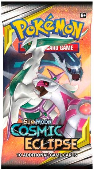 Pokemon Cosmic Eclipse Booster Sun & Moon 12 - 10 tilfeldige kort
