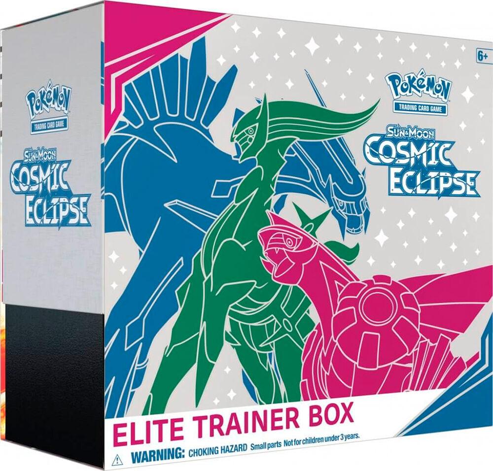 Pokemon Cosmic Eclipse Elite Trainer Sun & Moon 12