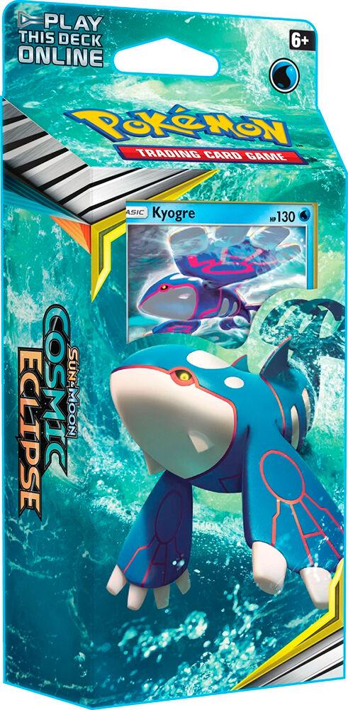 Pokemon Cosmic Eclipse Theme Kyogre Sun & Moon 12 Theme Deck