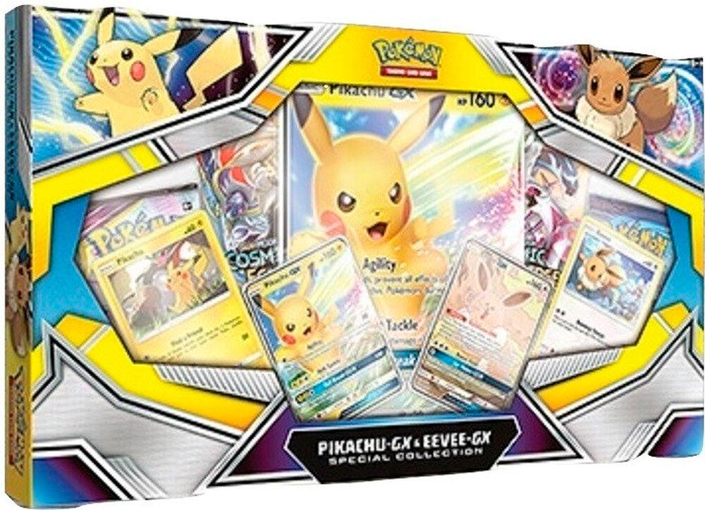 Pokemon Pikachu/Eevee GX Special Collec Special Collection