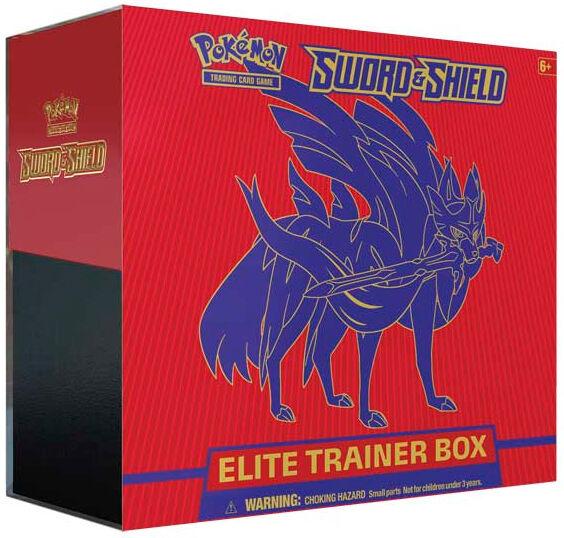 Pokemon Sword & Shield Elite Trainer Rød