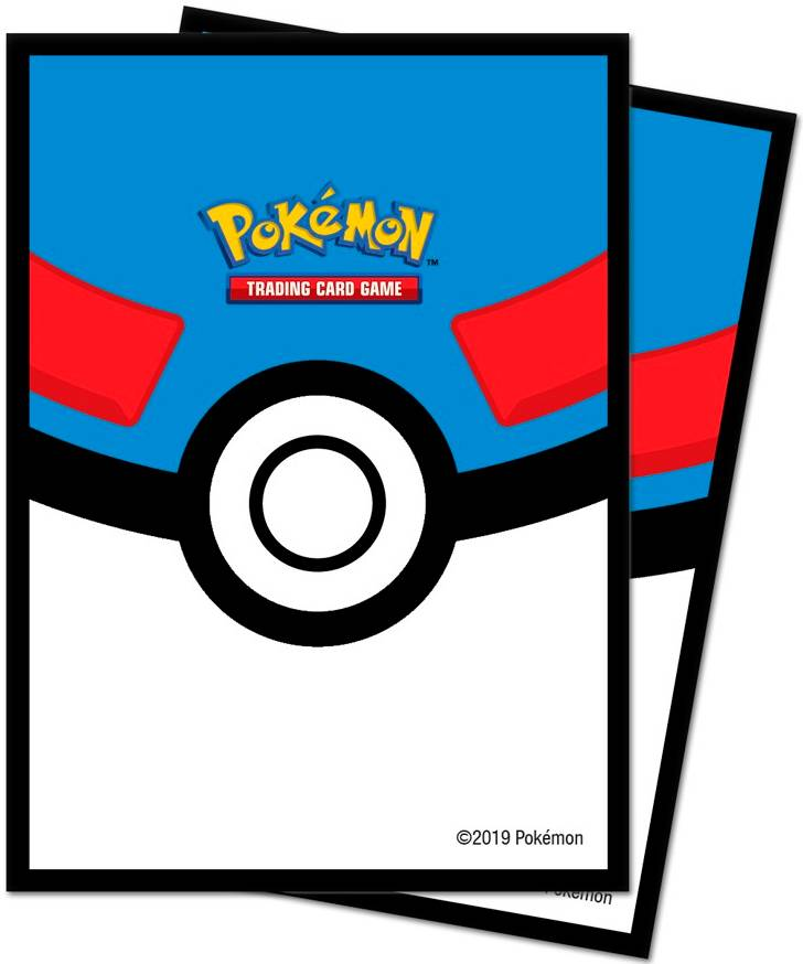 Sleeves Pokemon Great Pokeball 66x91 Ultra Pro Pokemon Deck Protection