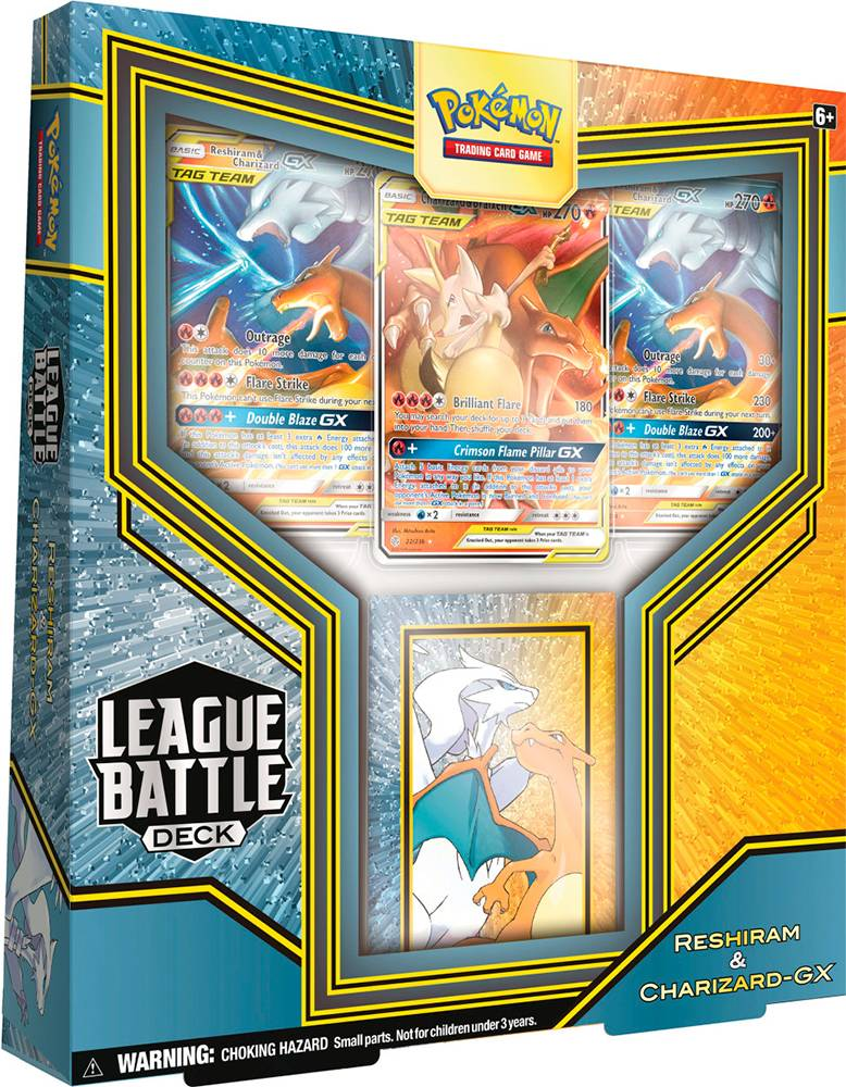 Pokemon League Battle Deck Reshiram/Char Reshiram & Charizard GX