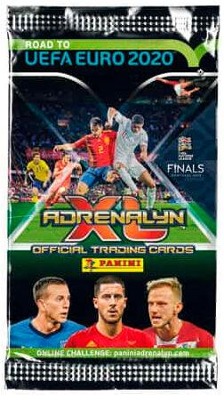 Panini Road to UEFA EURO 2020 Booster Adrenalyn XL - 6 Fotballkort per pakke