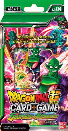 Dragon Ball SCG SD04 Guardian Starter De Starter Deck Guardian Namekians