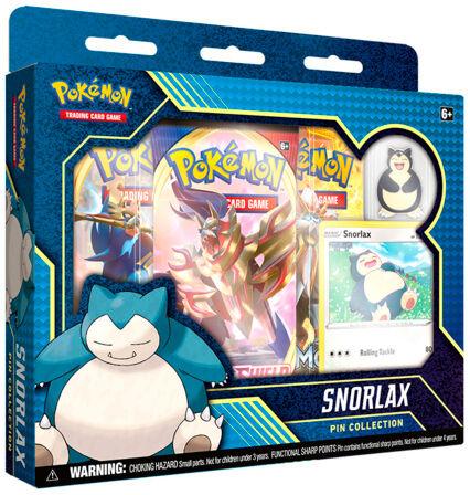 Pokemon Pin Collection Snorlax