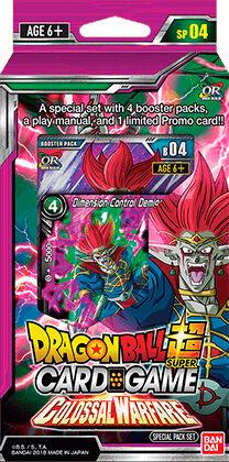 Dragon Ball SCG SP04 Colossal Special Pa Super Card Game - Colossal Warfare
